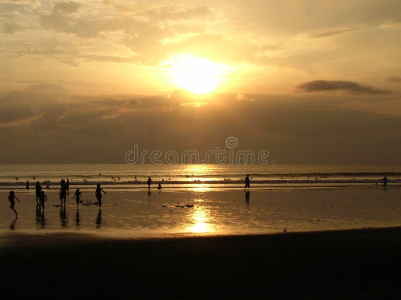 ηλιοβασίλεμα νησιών s Θεών στοκ εικόνες