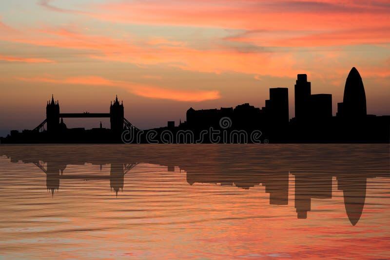 ηλιοβασίλεμα οριζόντων &tau διανυσματική απεικόνιση