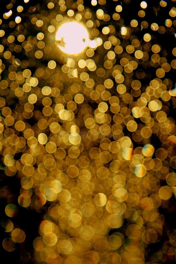 Ηλιοβασίλεμα σταγόνων βροχής στοκ φωτογραφία με δικαίωμα ελεύθερης χρήσης