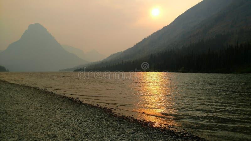 Ηλιοβασίλεμα στην ιατρική δύο στοκ φωτογραφία με δικαίωμα ελεύθερης χρήσης