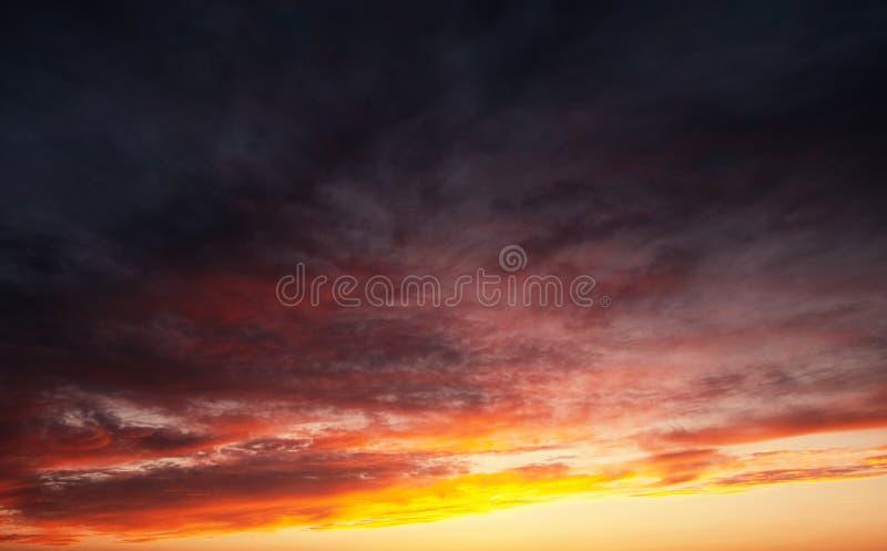 ηλιοβασίλεμα της θάλασσας της Βαλτικής ανασκόπησης στοκ εικόνα