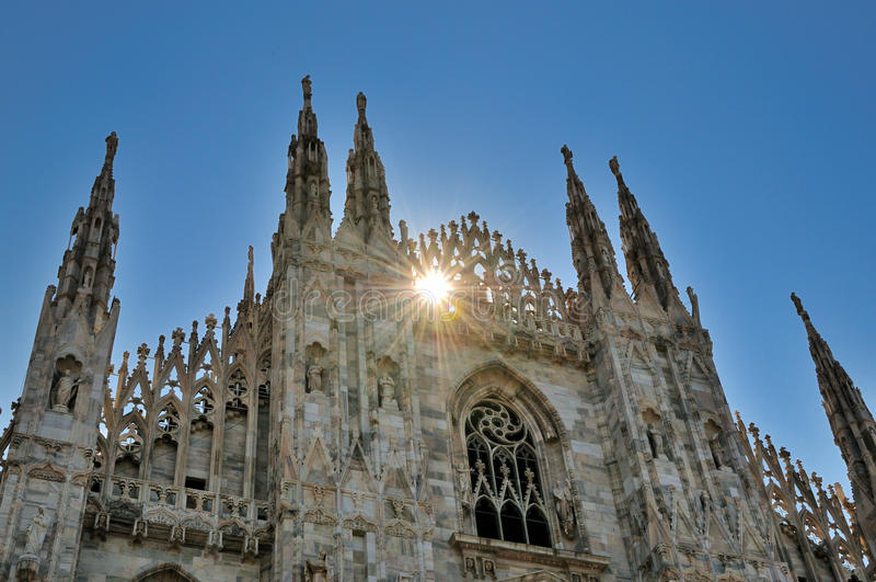 ηλιοβασίλεμα της Ιταλί&alpha στοκ εικόνες
