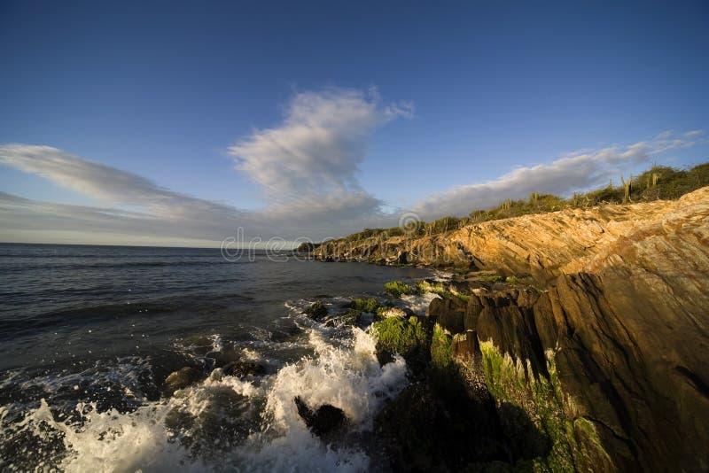 ηλιοβασίλεμα της Μαργαρίτα νησιών στοκ εικόνα με δικαίωμα ελεύθερης χρήσης