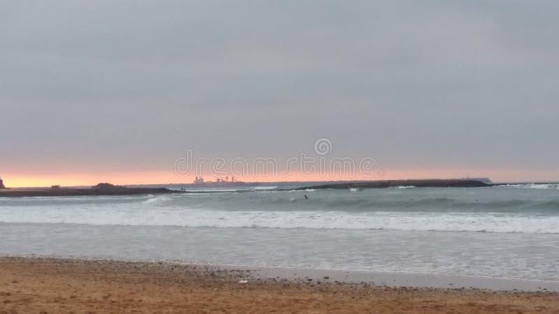 ηλιοβασίλεμα του Μαρόκ&omi στοκ εικόνα με δικαίωμα ελεύθερης χρήσης