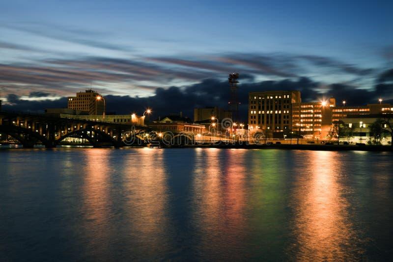 ηλιοβασίλεμα του Ρόκφο& στοκ φωτογραφίες