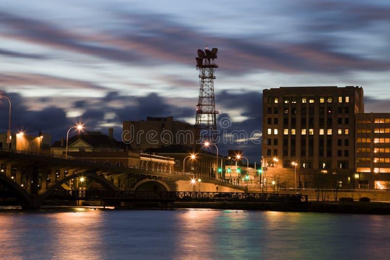 ηλιοβασίλεμα του Ρόκφο& στοκ φωτογραφίες με δικαίωμα ελεύθερης χρήσης