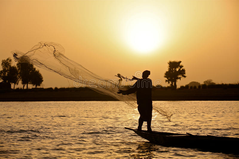 ηλιοβασίλεμα ψαράδων
