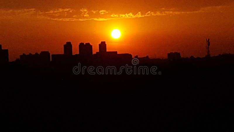 ηλιοβασίλεμα 5 στοκ φωτογραφία με δικαίωμα ελεύθερης χρήσης
