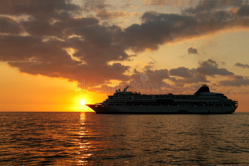 ηλιοβασίλεμα Cruisin Στοκ φωτογραφίες με δικαίωμα ελεύθερης χρήσης