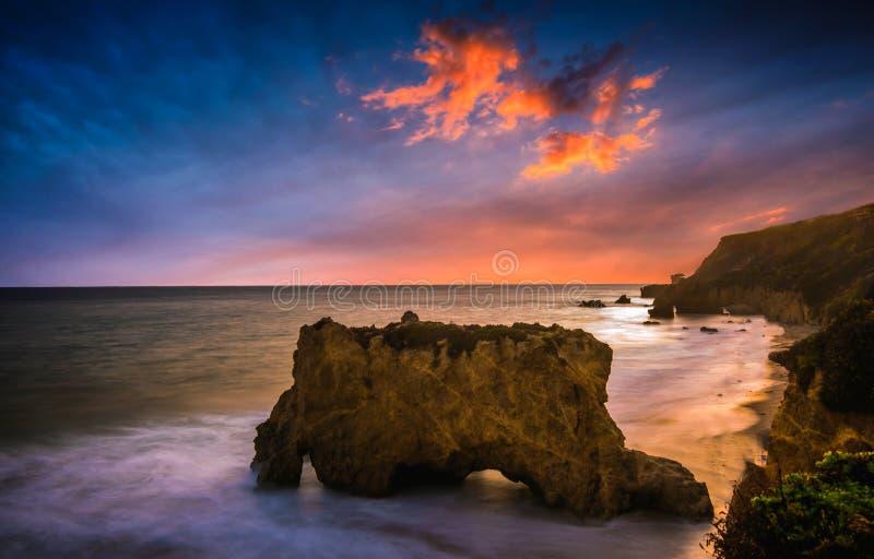 Ηλιοβασίλεμα EL ταυρομάχος στοκ εικόνα με δικαίωμα ελεύθερης χρήσης