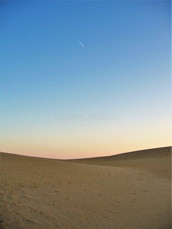 Ηλιοβασίλεμα Jockey ` s στην κορυφογραμμή στοκ εικόνα με δικαίωμα ελεύθερης χρήσης