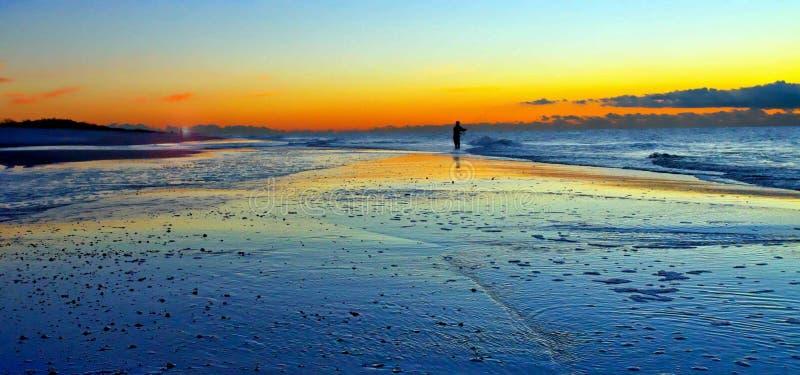 Ηλιοβασίλεμα Long Island στοκ εικόνα με δικαίωμα ελεύθερης χρήσης