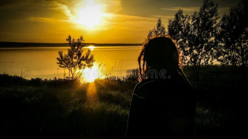 Ηλιοβασίλεμα Rasta στοκ εικόνες