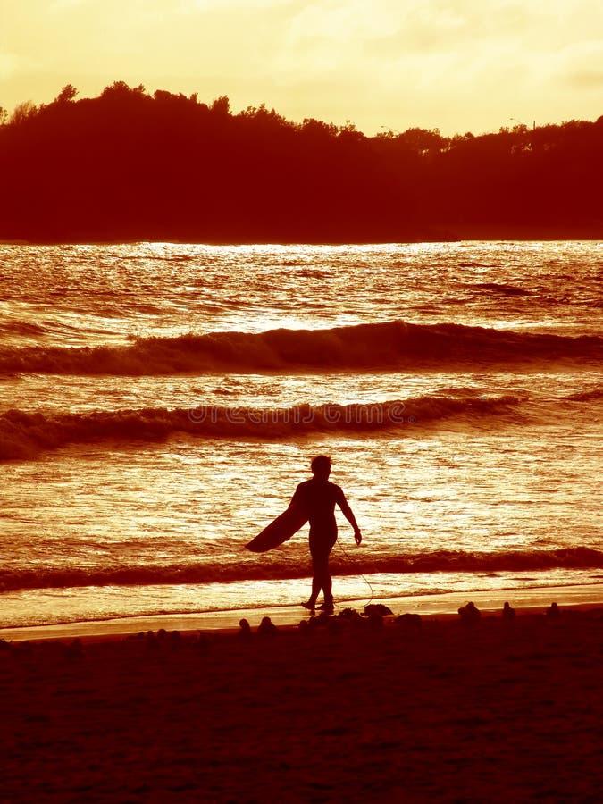 Ηλιοβασίλεμα surfer 2