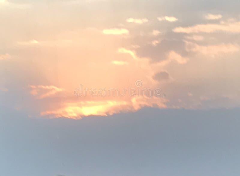 Ηλιοβασίλεμα Zacatlà ¡ ν στοκ φωτογραφία