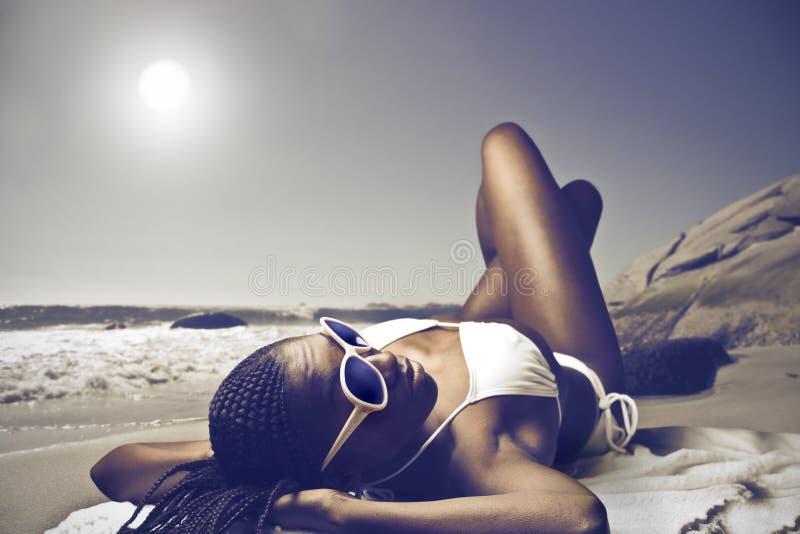 Ηλιοθεραπεία στοκ φωτογραφία με δικαίωμα ελεύθερης χρήσης