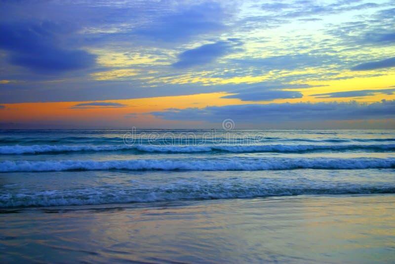 ηλιοφάνεια ακτών της Αυστραλίας στοκ εικόνες
