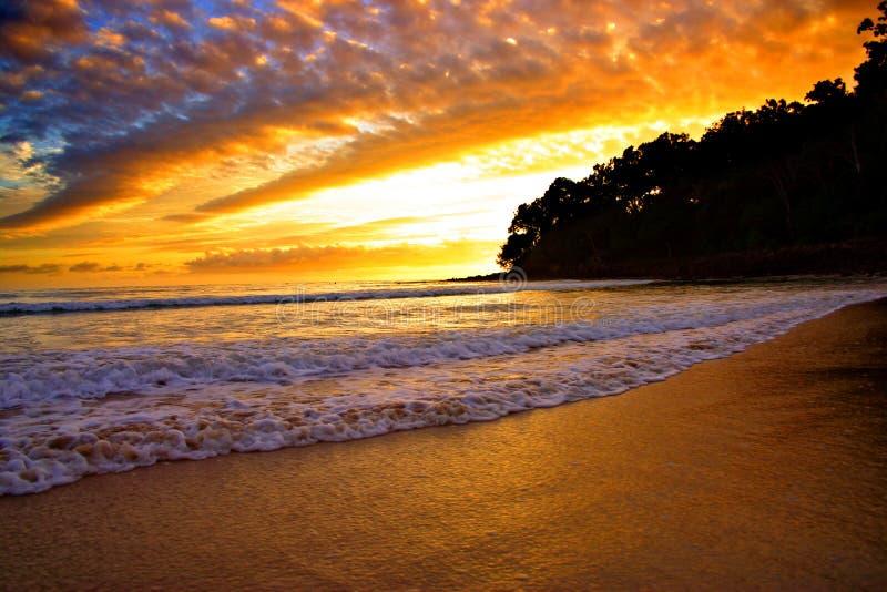 ηλιοφάνεια ακτών της Αυστραλίας στοκ φωτογραφία με δικαίωμα ελεύθερης χρήσης