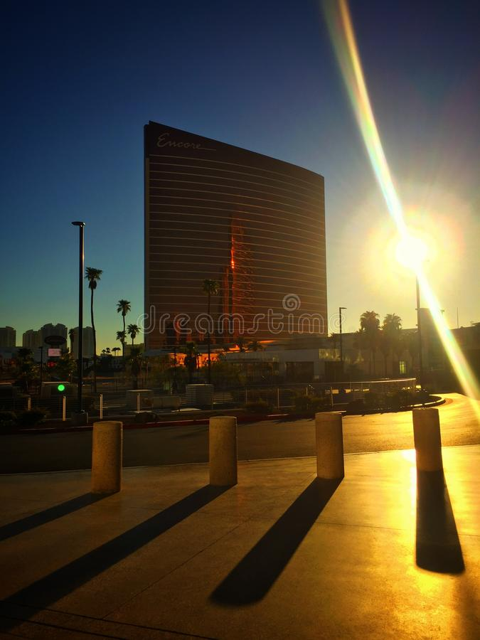 Ηλιοφάνεια στο Λας Βέγκας στοκ φωτογραφίες