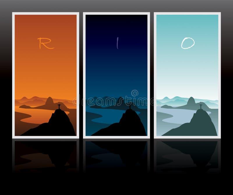 ημέρα ένα Ρίο διανυσματική απεικόνιση