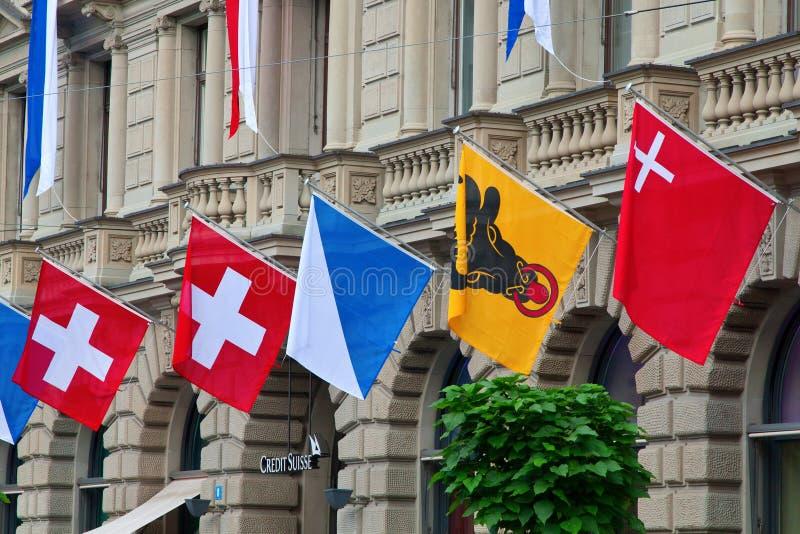 ημέρα εθνική ελβετική Ζυρ στοκ φωτογραφίες