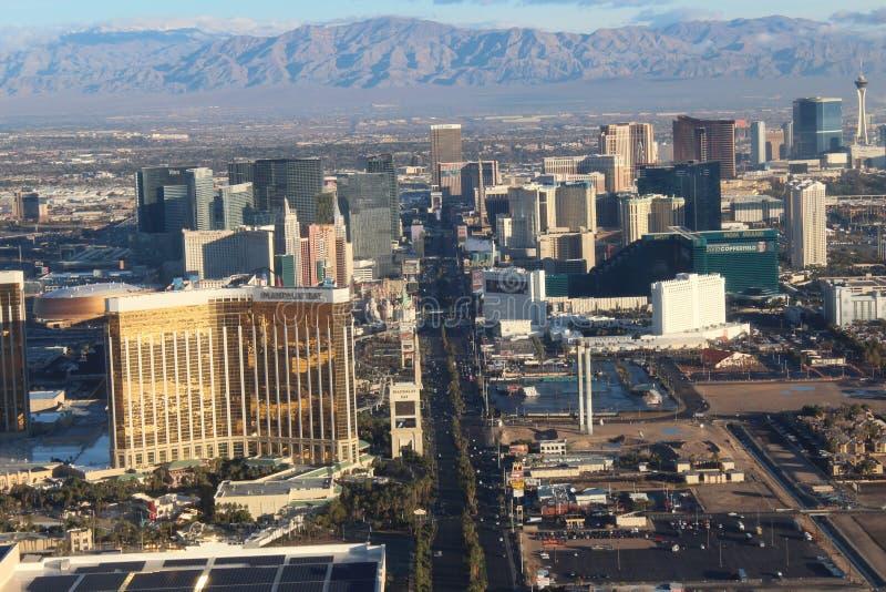 Ημέρα ζωή στη λουρίδα Vegas στοκ εικόνα με δικαίωμα ελεύθερης χρήσης
