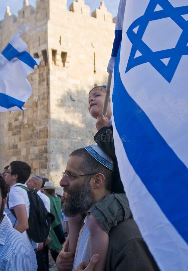 ημέρα Ιερουσαλήμ στοκ φωτογραφία με δικαίωμα ελεύθερης χρήσης