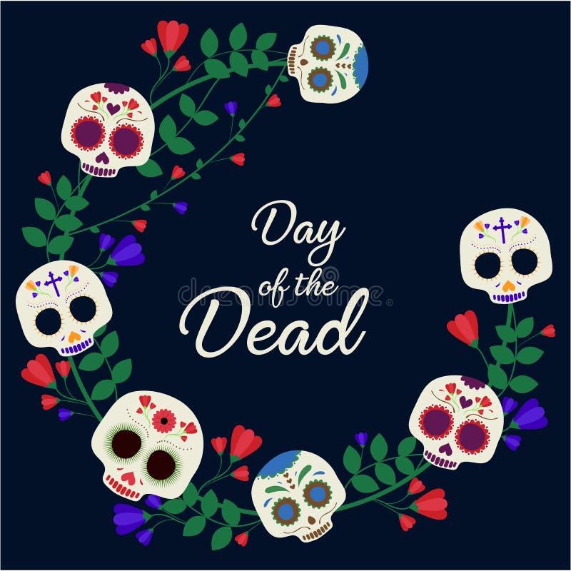 ημέρα νεκρή ελεύθερη απεικόνιση δικαιώματος