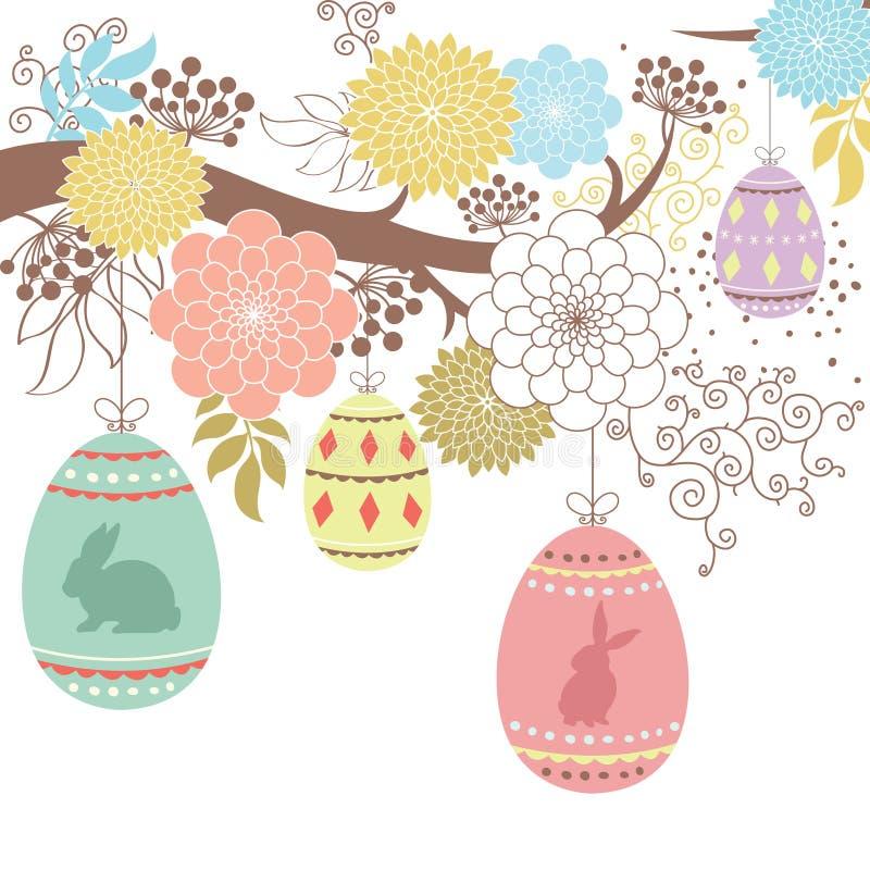 ημέρα Πάσχα ευτυχές απεικόνιση αποθεμάτων