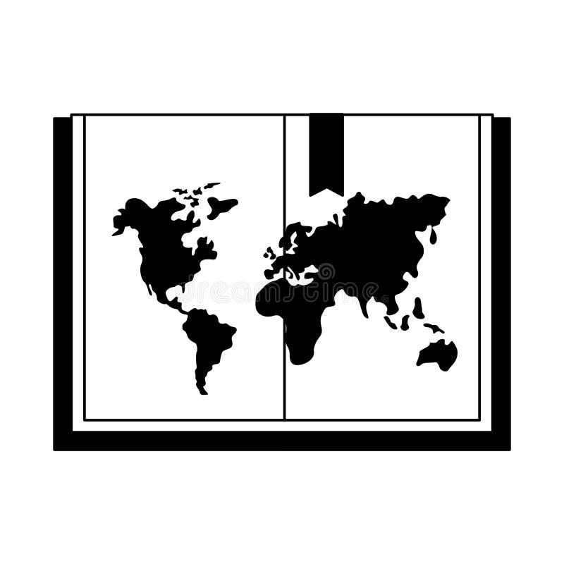 Ημέρα παγκόσμιων βιβλίων διανυσματική απεικόνιση
