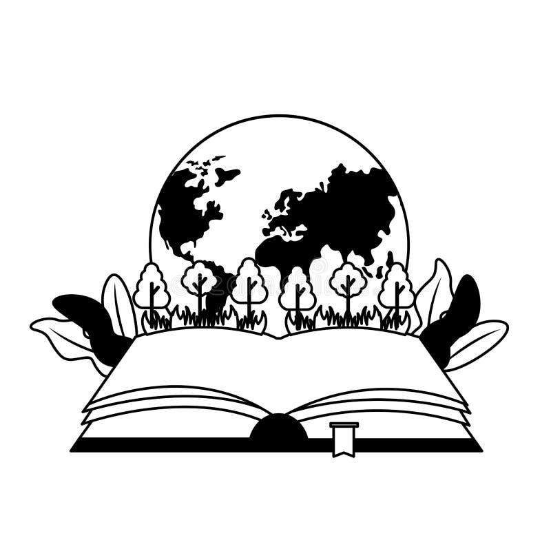 Ημέρα παγκόσμιων βιβλίων απεικόνιση αποθεμάτων
