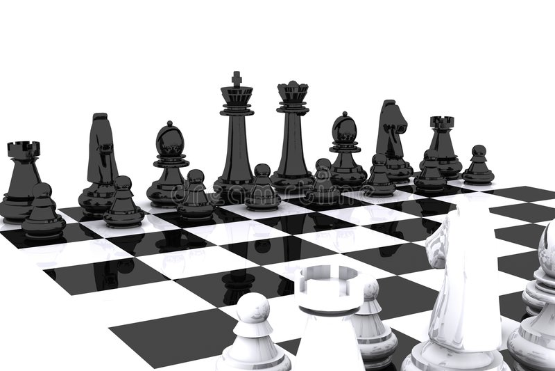 ημέρα σκακιού απεικόνιση αποθεμάτων