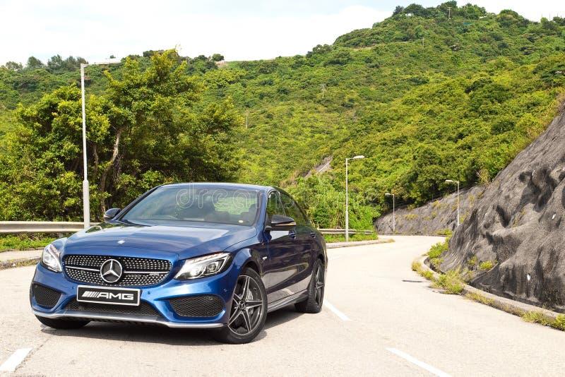 Ημέρα τεστ δοκιμής της Mercedes-Benz Γ 43 2016 στοκ εικόνες