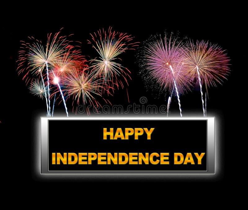 Ημέρα της ανεξαρτησίας. απεικόνιση αποθεμάτων