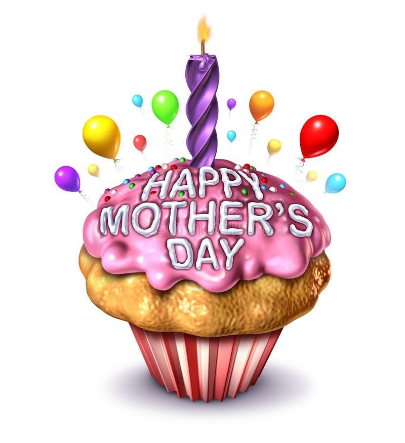 Ημέρα της ευτυχούς μητέρας ελεύθερη απεικόνιση δικαιώματος