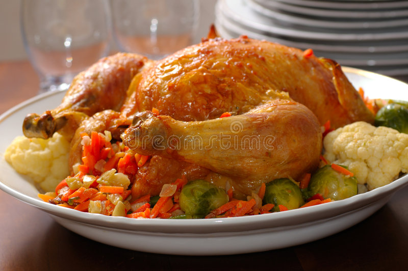 ημέρα των ευχαριστιών γευμάτων στοκ εικόνα