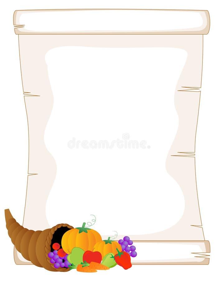 ημέρα των ευχαριστιών εμβλημάτων διανυσματική απεικόνιση