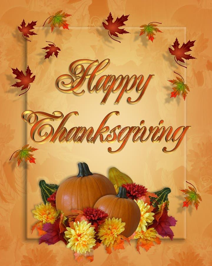 ημέρα των ευχαριστιών πτώση&si διανυσματική απεικόνιση