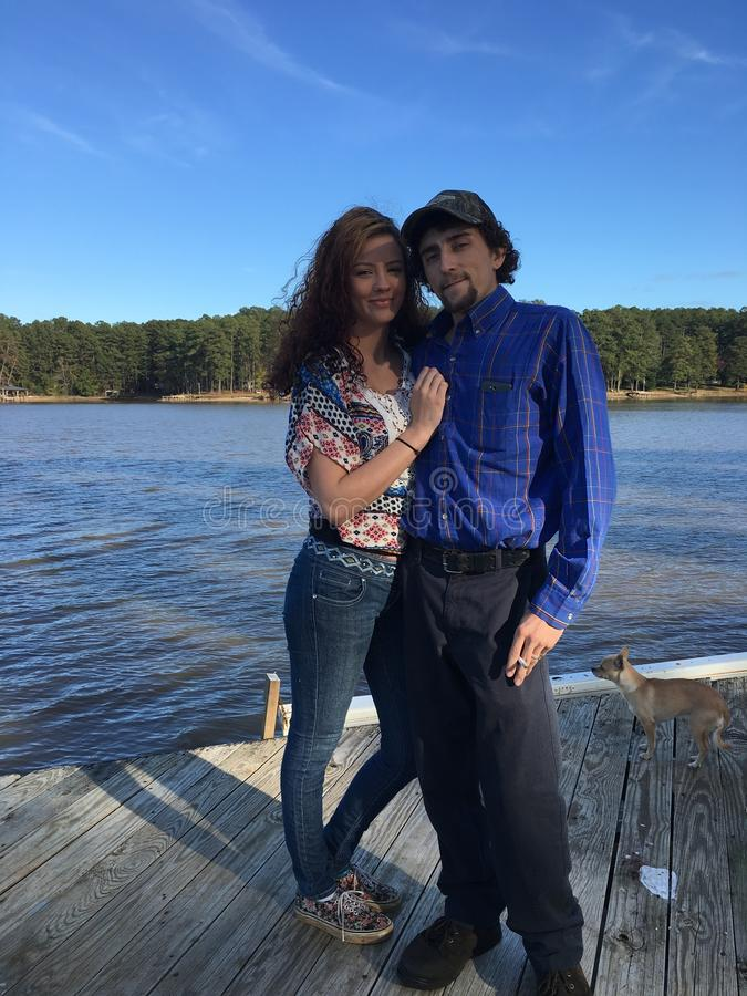 Ημέρα των ευχαριστιών στη λίμνη στοκ εικόνες με δικαίωμα ελεύθερης χρήσης