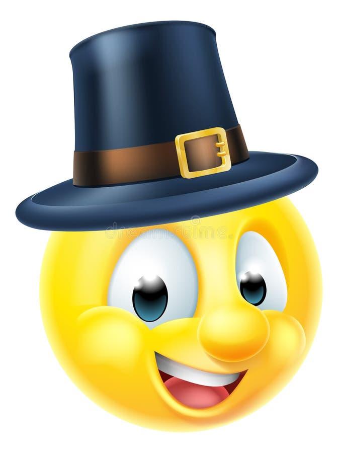 Ημέρα των ευχαριστιών Emoji απεικόνιση αποθεμάτων