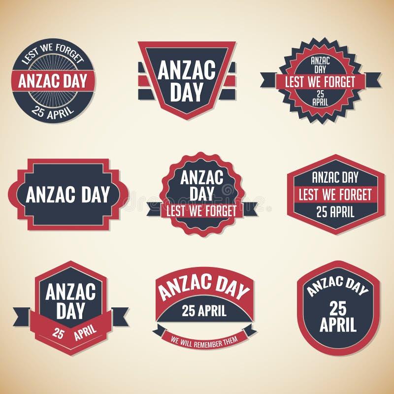 Ημέρα Anzac απεικόνιση αποθεμάτων