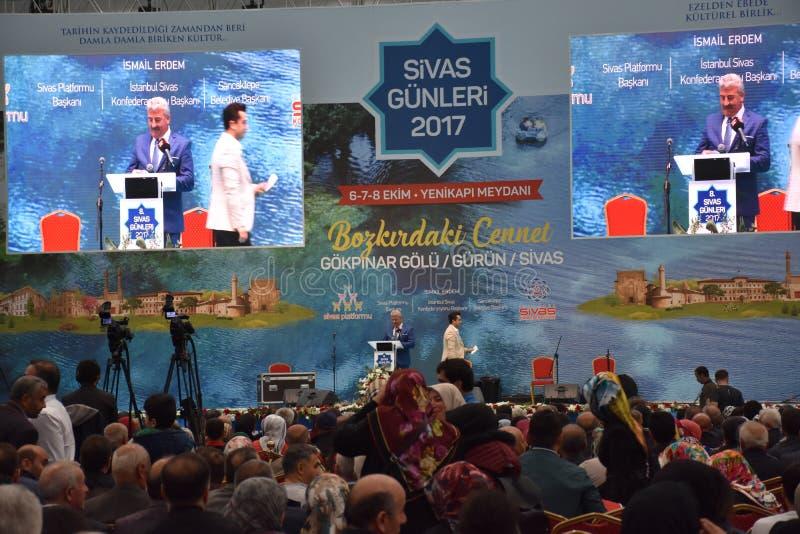 2017 ημέρες Ä°stanbul, Τουρκία Sivas στοκ εικόνες