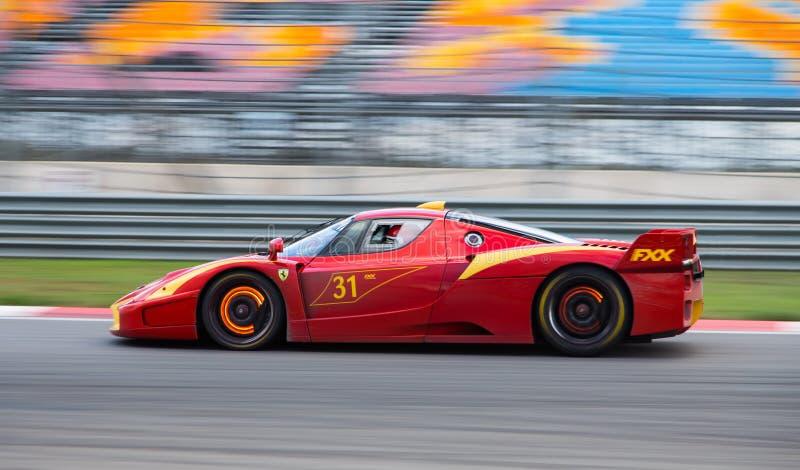 Ημέρες αγώνα Ferrari στοκ εικόνες με δικαίωμα ελεύθερης χρήσης