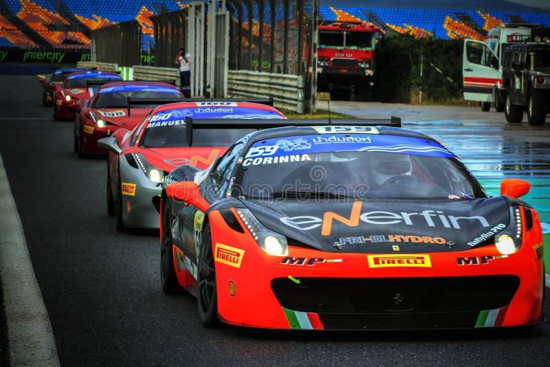 Ημέρες Ferrari στοκ εικόνες με δικαίωμα ελεύθερης χρήσης