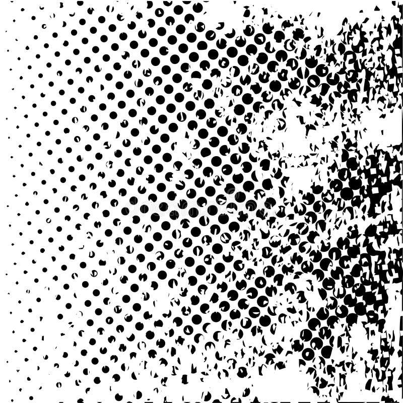 Ημίτονο γραπτό υπόβαθρο Grunge διανυσματική απεικόνιση