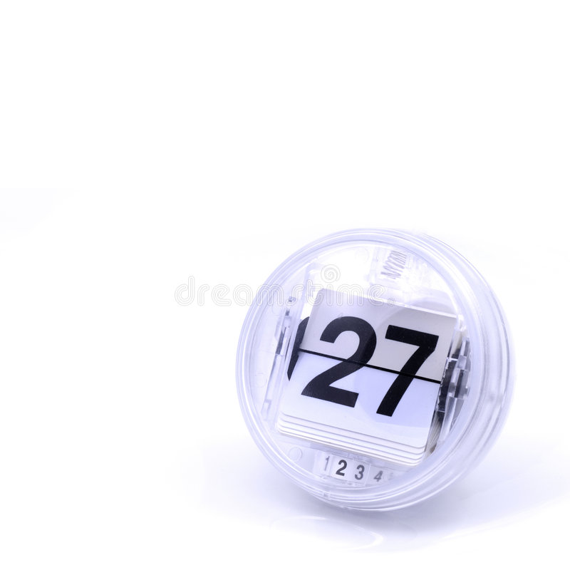 ημερολογιακή ημερομηνία στοκ εικόνα με δικαίωμα ελεύθερης χρήσης
