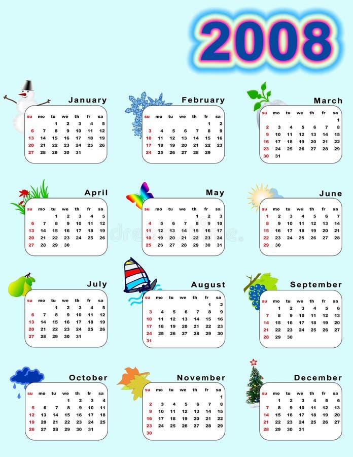 ημερολογιακή κατακόρυ&phi ελεύθερη απεικόνιση δικαιώματος