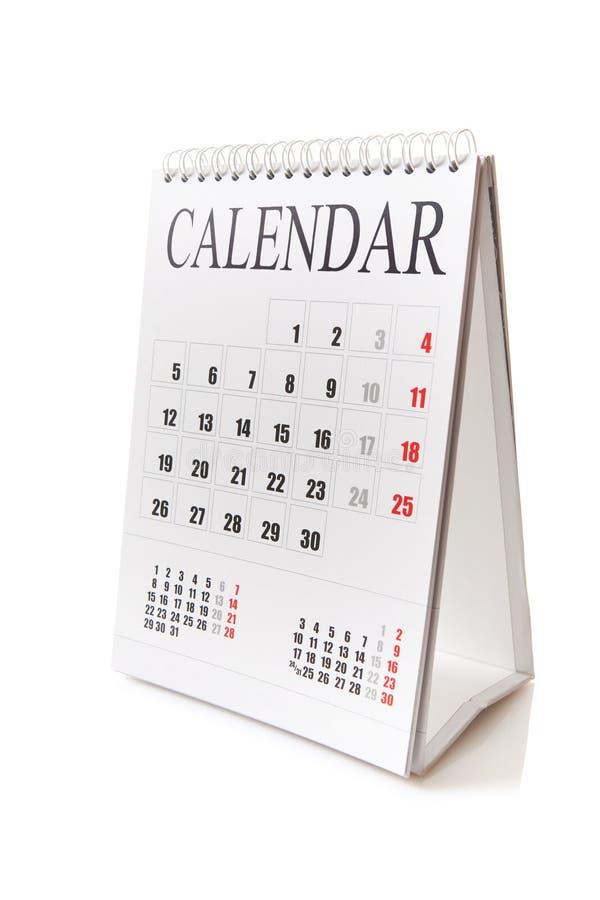 ημερολογιακό γραφείο στοκ φωτογραφία