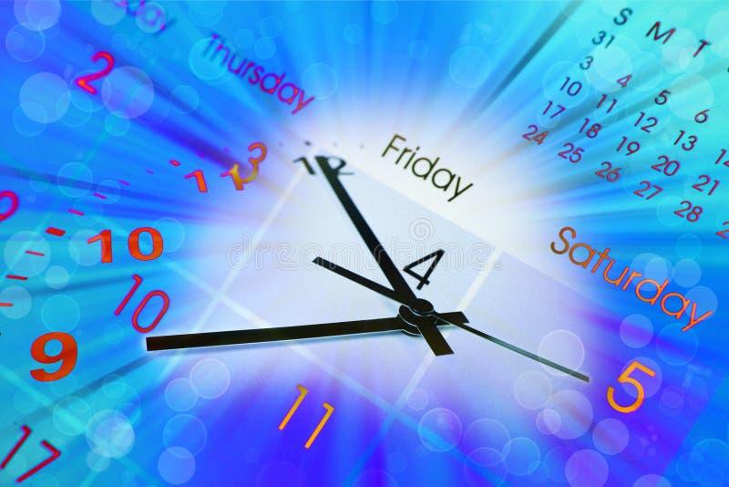 ημερολογιακό ρολόι ελεύθερη απεικόνιση δικαιώματος