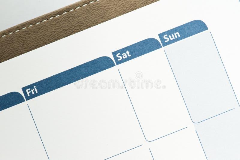 ημερολόγιο στοκ φωτογραφία